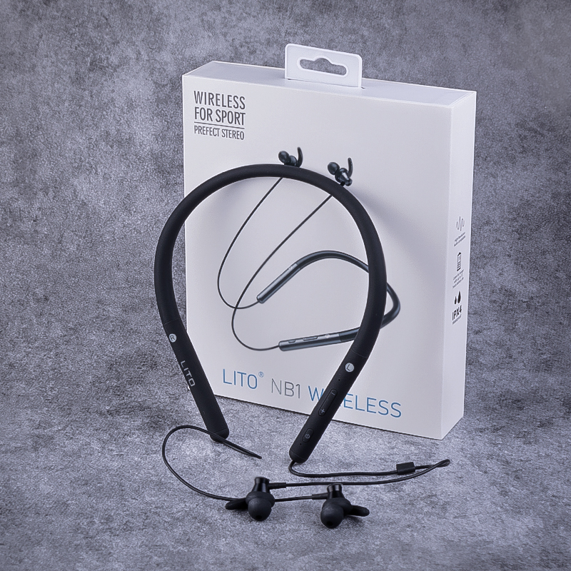 Bluetooth Headphones Neckband with Mic