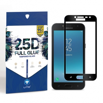 Samsung Galaxy J2 prime full cover gehard glas screen protector shield